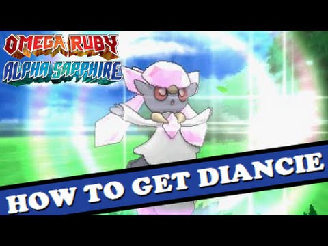 How To Get DIANCIE In Pokemon Omega Ruby & Alpha Sapphire - Diancie US EVENT For Pokemon X and Y!