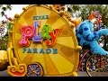 Pixar Play Parade New Monsters University And Inside Out Pre