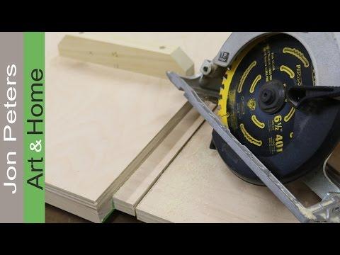 Super Simple Circular Saw Crosscut Jig