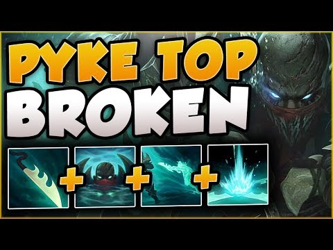 RIOT'S BEST NEW CHAMP YET? PYKE IS ACTUALLY INSANE! PYKE SEASON 8 TOP GAMEPLAY! - League of Legends