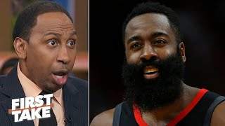 This is James Harden's last chance to win a title - Stephen A.   First Take