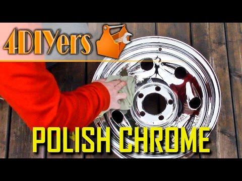 DIY: How to Clean & Polish Chrome Wheels