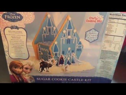 Frozen Sugar Cookie Castle Kit