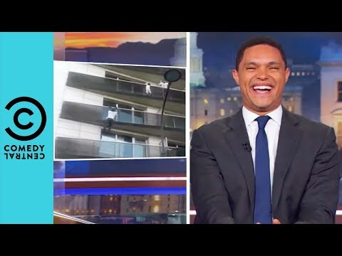 France Has Its Very Own Spiderman   The Daily Show With Trevor Noah
