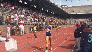 Sydney McLaughlin anchors Union Catholic at Penn Relays