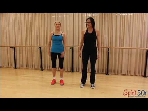 Low impact cardiovascular exercise: high march