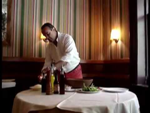 Pino Luongo Caesar Salad
