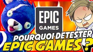 POURQUOI détestez-vous EPIC GAMES ? 🎮   EDITO