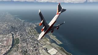 Chicago Plane Crash AIRINDIA 747-400 ++ Aerofly FS 2