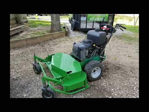 DLC - Brush Mower Side Discharge Removal