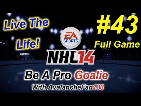 NHL 14 - Be A Pro - Goalie - Episode 43: Game 39 of My 5th Season *Full Game*