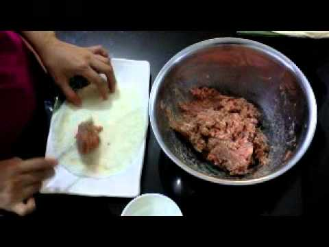 How to cook Pinoy  Style Spring Roll