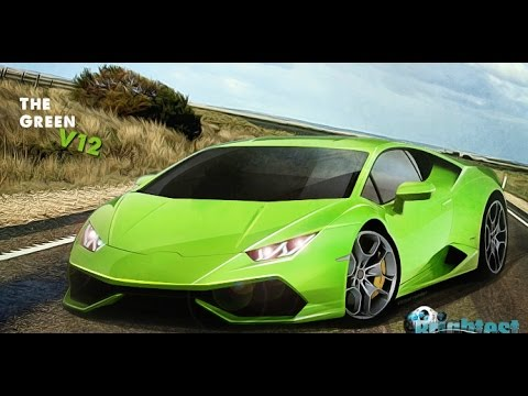 Play The Green Car V12 Game Online - Parking Games