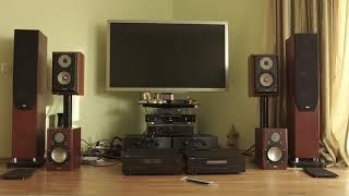 Yamaha A-2100, Yamaha CD-S1000, ELAC BS244 - PakVim net HD