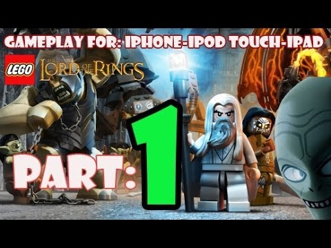 LEGO The Lord Of The Rings: Part-1 The Last Alliance Beginning First 8Mins Gameplay iPhone/iPad/iPod