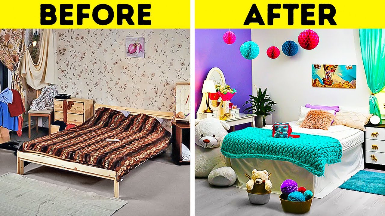 Easy Ways To Upgrade Your Bedroom    Cool Home Organizing And Decorating Hacks