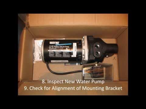 Do it Yourself Shallow Well Jet Pump Replacement