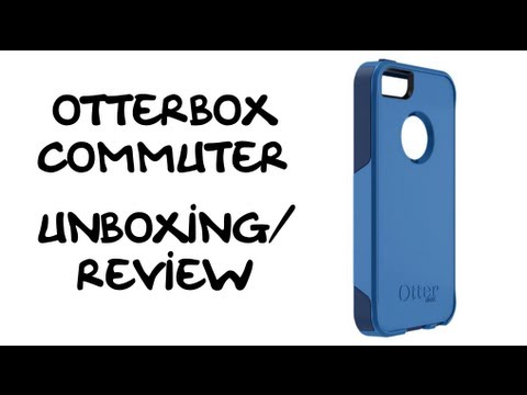 OtterBox Commuter Case(iPhone 5) - Unboxing/Review