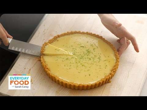 Sarah Carey's Key Lime Tart Recipe - Everyday Food with Sarah Carey