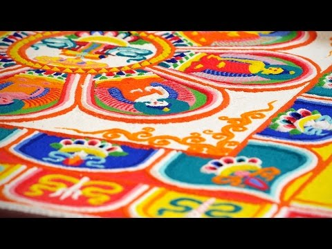 Sand mandala: Tibetan Buddhist ritual