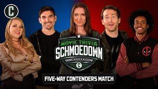Innergeekdom League 5-Way Contenders Match - Movie Trivia Schmoedown