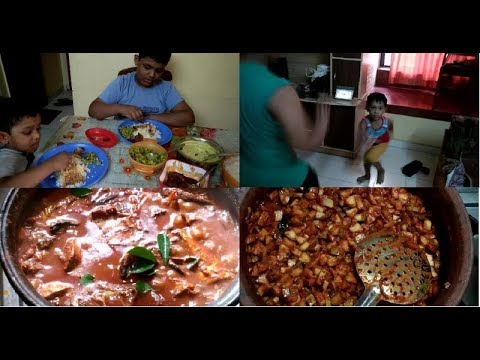 Kerala Woman Lunch Routine/ Vlog - No - 2