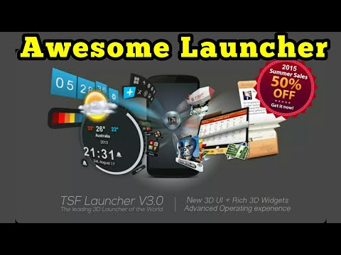 TSF 3D Shell Launcher | App Review | Episode 10