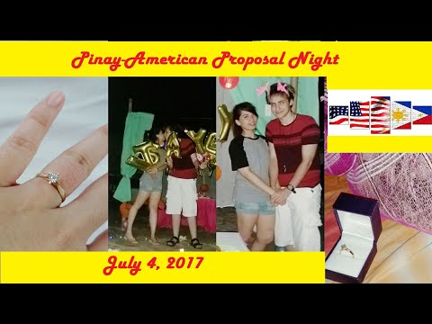 Long Distance Relationship Story - Filipino & American - The Engagement