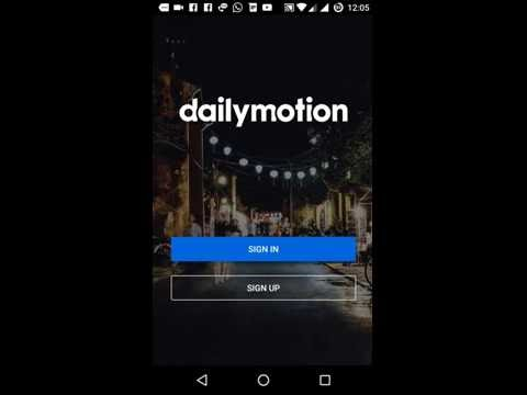 How to Create Dailymotion Account New Channel