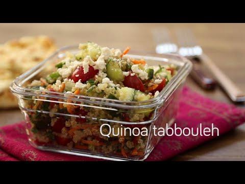 Quinoa tabbouleh | Video recipe