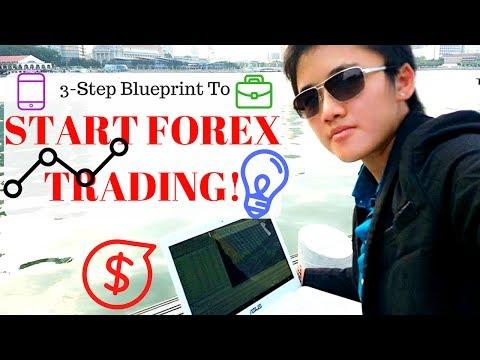 HOW TO START FOREX TRADING   Karen Trading Tips EP.1
