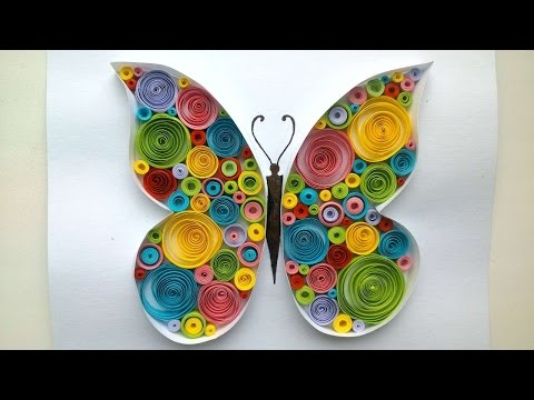 How To Make A Beautiful Butterfly Quilling - DIY Crafts Tutorial - Guidecentral