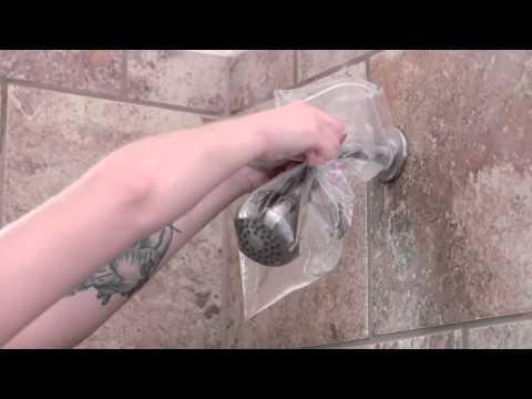 Banish Shower Head Buildup