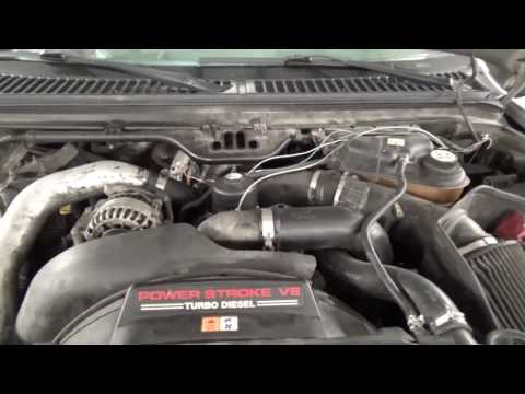 How to make/remove a smoke switch on a 6.0 Powerstroke
