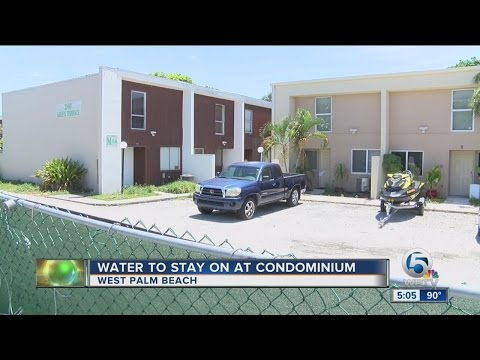 Sober house HOA ordered to pay water bill