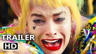 BIRDS OF PREY Official Trailer (2020) Harley Quinn,  Margot Robbie, DC Movie HD