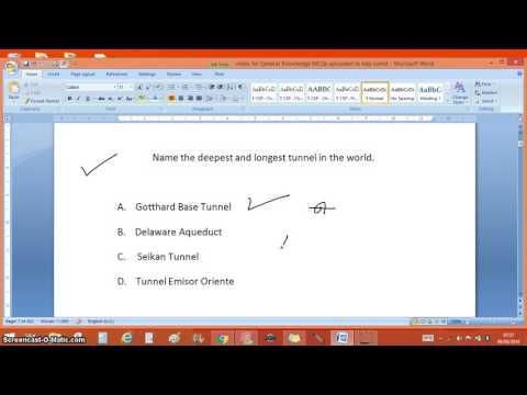 Video - Change MSWord 2007 document from pen(inking) mode to cursor mode and vice versa