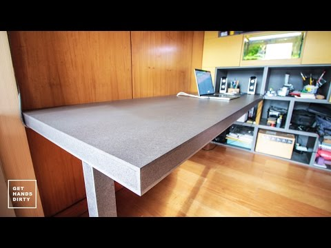Loft Bed // Work Space : (Almost Floating) Desk - Ep. 4