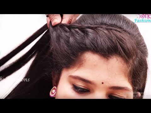 Occasion Hairstyle for Long Hair | hairstyles for parties | wedding hairstyles | She Fashions