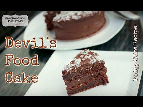 Devil's Food Cake - Part 1 -Delicious Chocolate Cake Recipe Tutorial