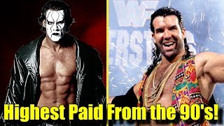 10 HIGHEST-PAID Wrestlers from the 90