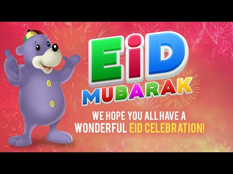 Eid Mubarak From Zaky & Friends!