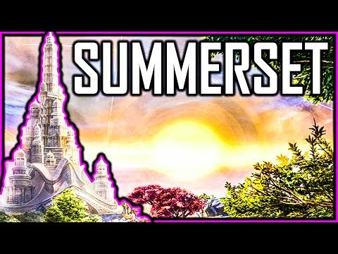 First Look At Summerset Chapter For Elder Scrolls Online
