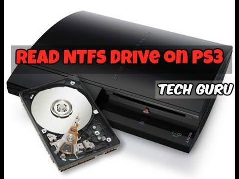 Read NTFS External Hard Drive on PS3 (4 GB+)