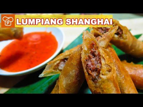 How to Make Lumpiang Shanghai - Panlasang Pinoy Easy Recipes