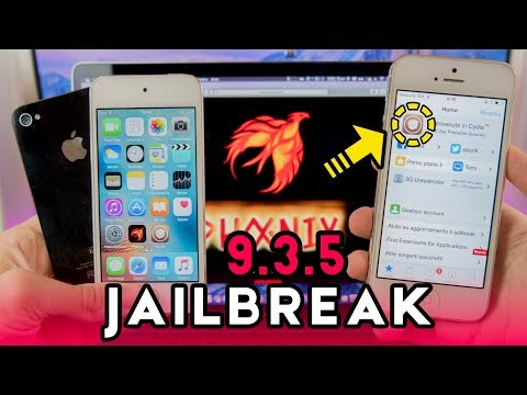NUOVO Jailbreak iOS 9.3.5 su iPhone 5c, 5, 4s, iPad 4, 3, 2 & iPod 5g - Phoenix Jailbreak