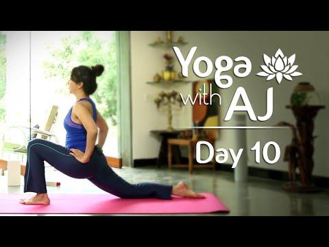 Yoga For Weight Loss | Surya Namaskar And Cardio Workout | Day 10 | Yoga With AJ