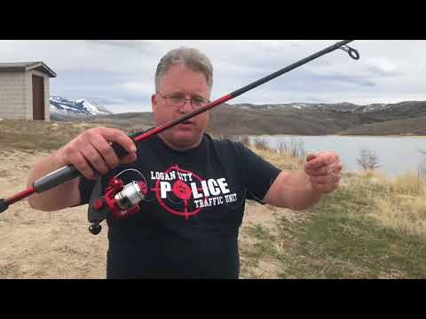 Fishing with power bait and a spoon