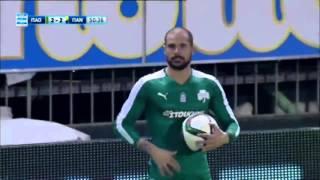 Panathinaikos vs. Panaitolikos  4 - 2 All Goals (Super League - 4 January 2016)