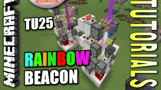 Minecraft Ps4 Rainbow Beacon How To Tutorial Ps3 Xbox Wii